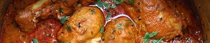 Hühnerfleisch-Gerichte