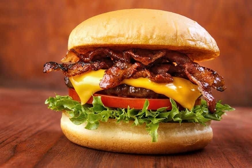 Burger und Snacks