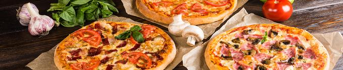 Pizza mit Gyros/Döner