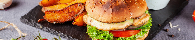 Burger, XL