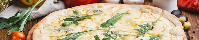 Steinofen-Pizzen