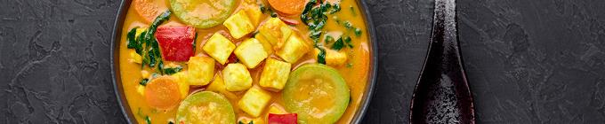 Indisch - Vegane und vegetarische Gerichte