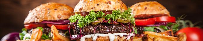 Beef/Chicken Burger