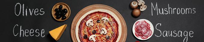 Pizza, Ø 28cm