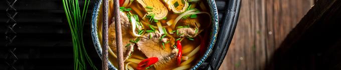 Ramen Suppen-Udon Nudelsuppen