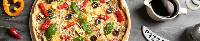 Pizza mit Geflügel