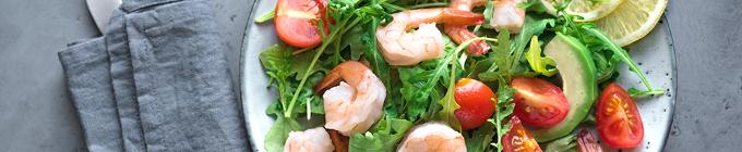 Frische knackige Salate