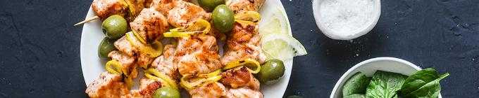 Chicken-Cross Gerichte