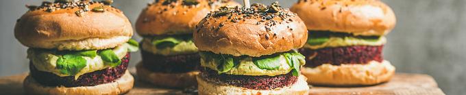 Chicken & Veggie Burger