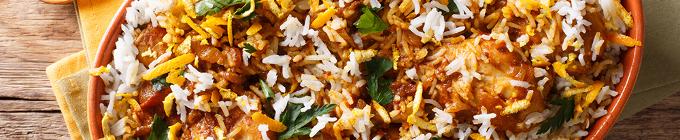 Indisch - Reis Spezialitäten