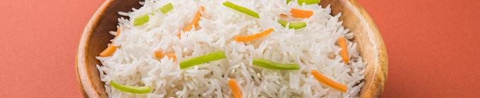 Vegetarisch mit Reis