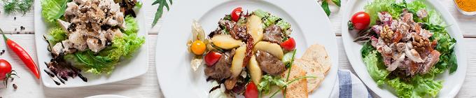 Salate, groß