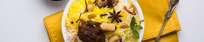 Indische Gerichte - Biryani