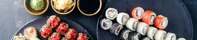 Sushi-Menüs