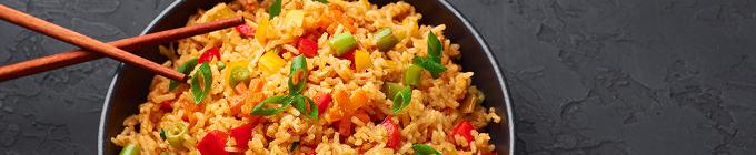 Gebratener Reis mit
