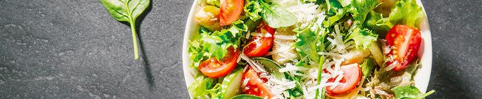 Salate knackfrisch