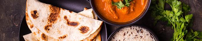 Indisches spezial Menü