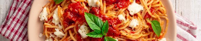 Pasta und Aufläufe