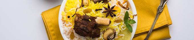 Persische Schmorgerichte mit Fleisch