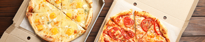 Pizza zum Zusammenstellen