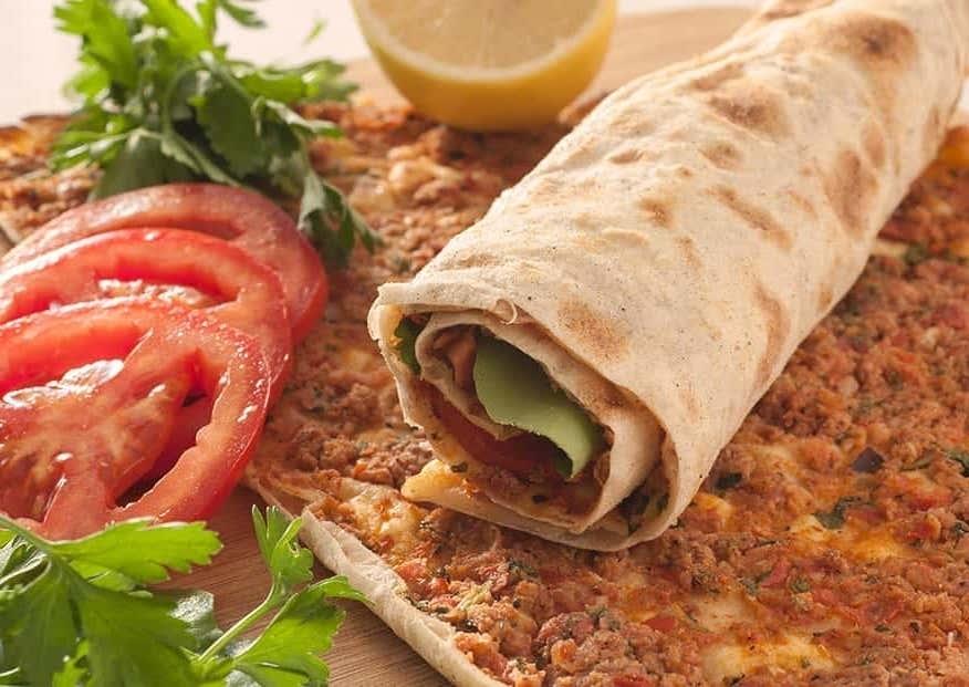 Pizza auf türkische Art