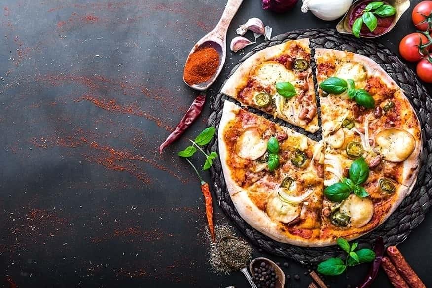 Indische Pizzen