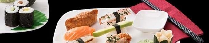 Sushi Komposition