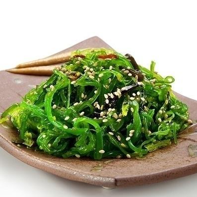 Wakame (Japanischer Seetang Salat)