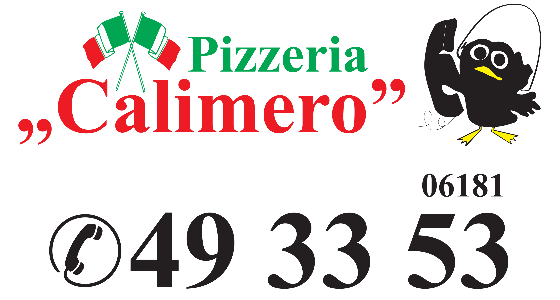 Jetzt bestellen bei Pizzeria Calimero Maintal | Maintal