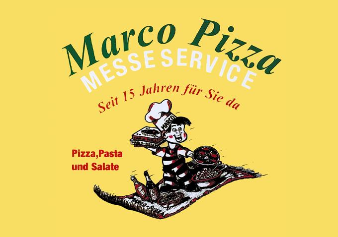 Jetzt bestellen bei Marco Pizza Messeservice   München