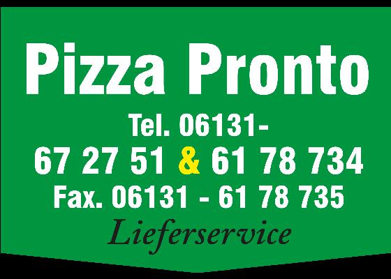 Jetzt bestellen bei PizzaProntoMainz | Mainz