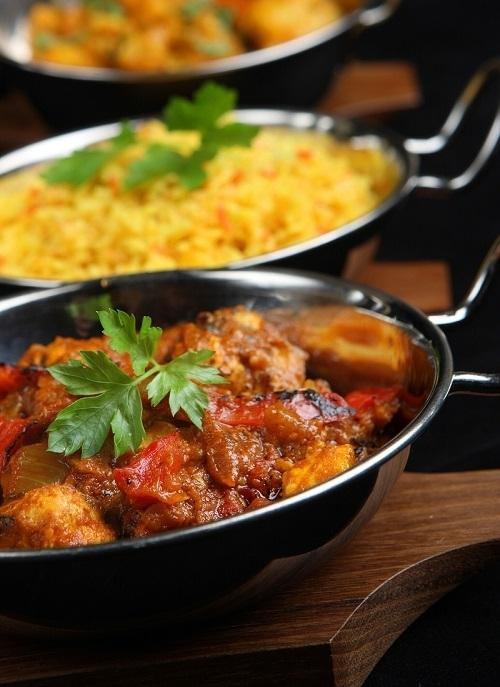 Thai-Curry mit Hühnerfleisch